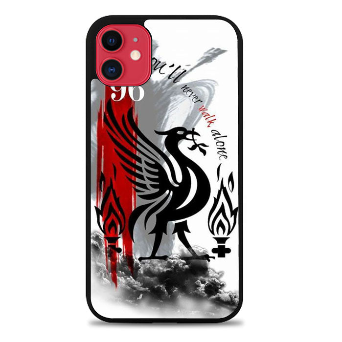 Logo Liverpool FJ0884 iPhone 11 Case New Year Gifts 2020-iPhone 11 Case-Recovery Case