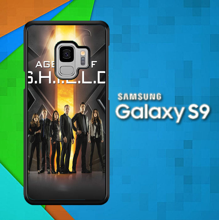 Agents of SHIELD X0741 Samsung Galaxy S9 Case New Year Gifts 2020-Samsung Galaxy S9 Cases-Recovery Case