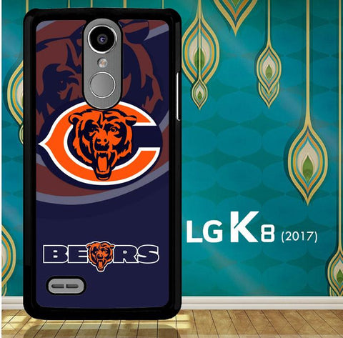Chicago Bears Logo X3230 LG K8 2017 / LG Aristo / LG Risio 2 / LG Fortune / LG Phoenix 3  Cover Cases