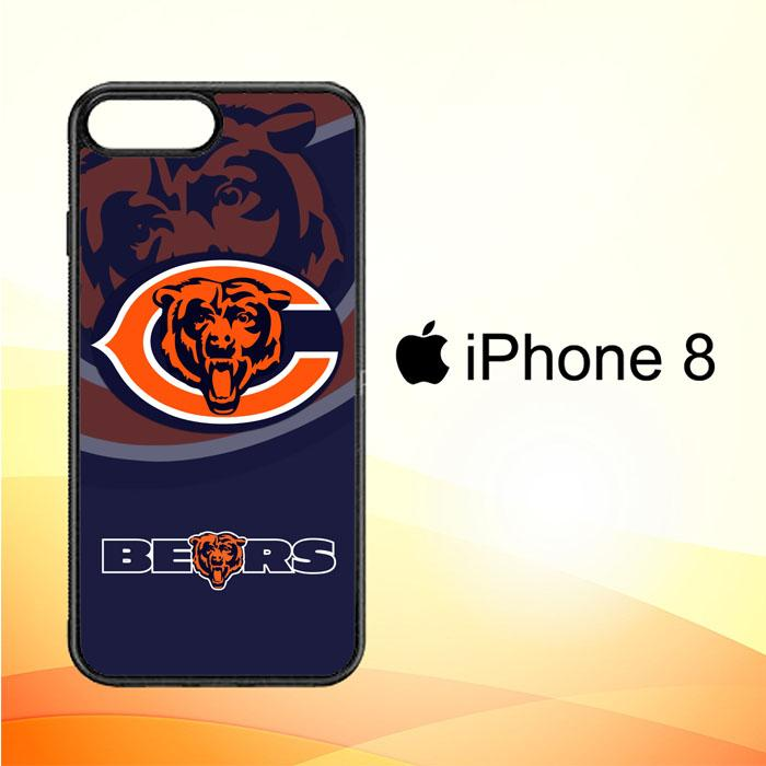 Chicago Bears Logo X3230 iPhone 8 Case New Year Gifts 2020-iPhone 8 Cases-Recovery Case