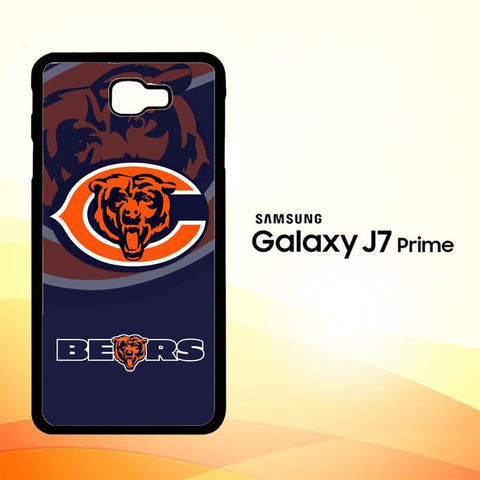 Chicago Bears Logo X3230 Samsung Galaxy J7 V , J7 Sky Pro, J7 Prime, J7 Perx 2017 SM J727 Case Cover Cases