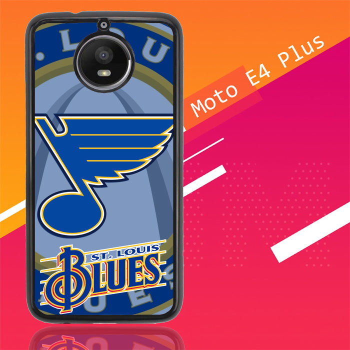 St Louis Blues Logo X3237 Motorola Moto E4 Plus Case Christmas Gifts | Xmas Presents and Gift Ideas-Motorola Moto E4 Plus-Recovery Case