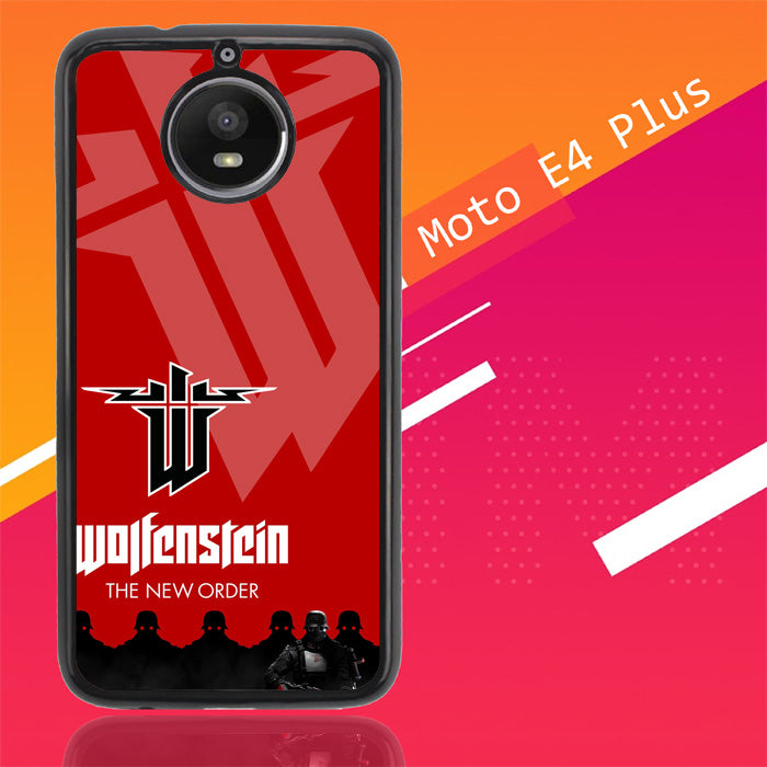 Wolfenstein The New Order X3296 Motorola Moto E4 Plus Case Christmas Gifts | Xmas Presents and Gift Ideas-Motorola Moto E4 Plus-Recovery Case