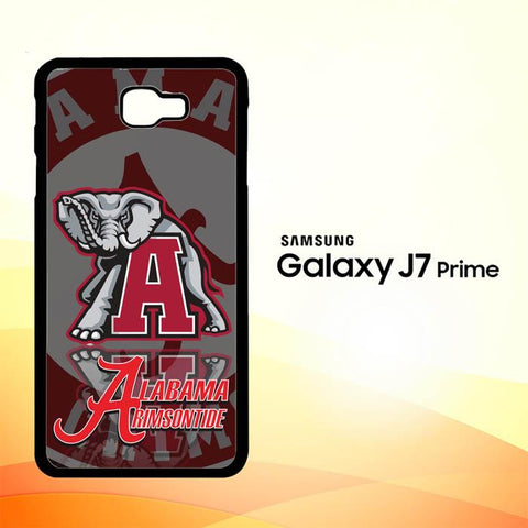 Alabama Crimson Tide X3309 Samsung Galaxy J7 V , J7 Sky Pro, J7 Prime, J7 Perx 2017 SM J727 Case Cover Cases