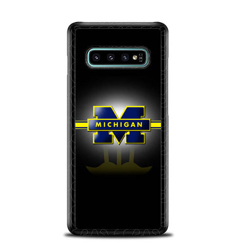 Michigan Wolverines X3347 Samsung Galaxy S10 Plus Cover Cases