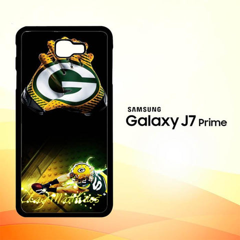 Green Bay Packers X3377 Samsung Galaxy J7 V , J7 Sky Pro, J7 Prime, J7 Perx 2017 SM J727 Case Cover Cases