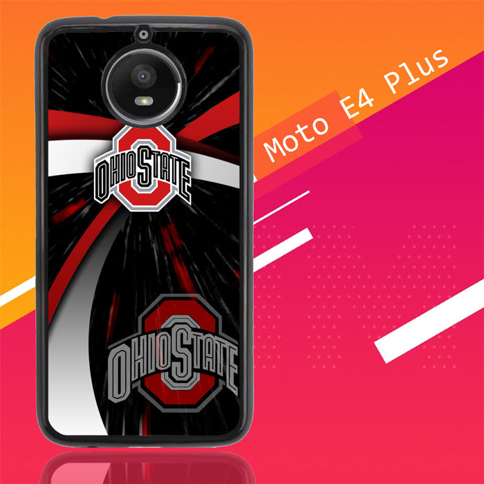 Ohio State Buckeyes Logo X3424 Motorola Moto E4 Plus Case New Year Gifts 2020-Motorola Moto E4 Plus-Recovery Case