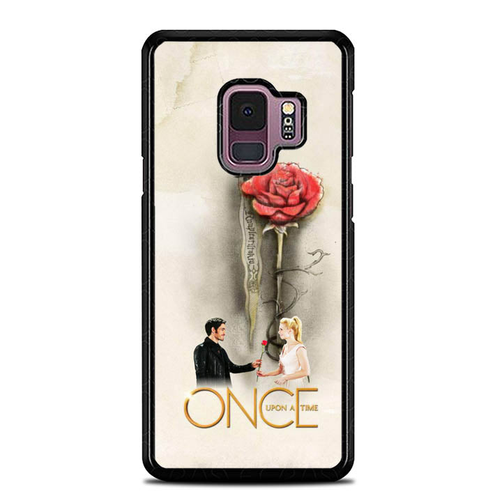Once Upon A Time Rose X3423 Samsung Galaxy S9 Case