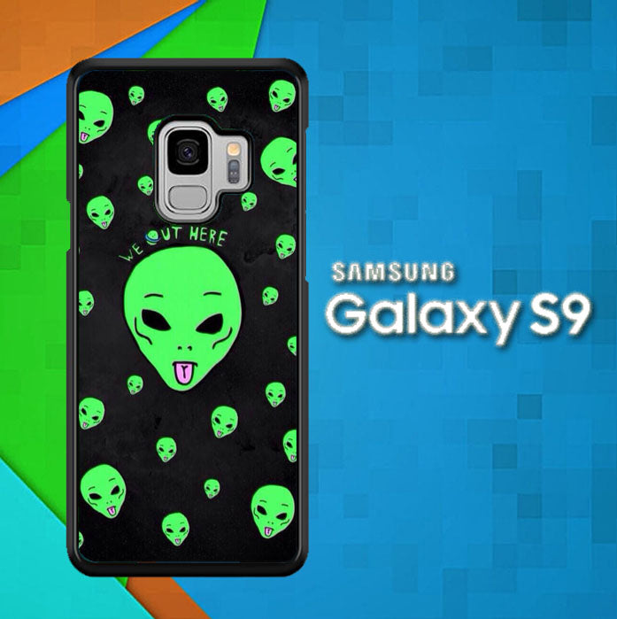 Alien We Out Here X4148 Samsung Galaxy S9 Case New Year Gifts 2020-Samsung Galaxy S9 Cases-Recovery Case