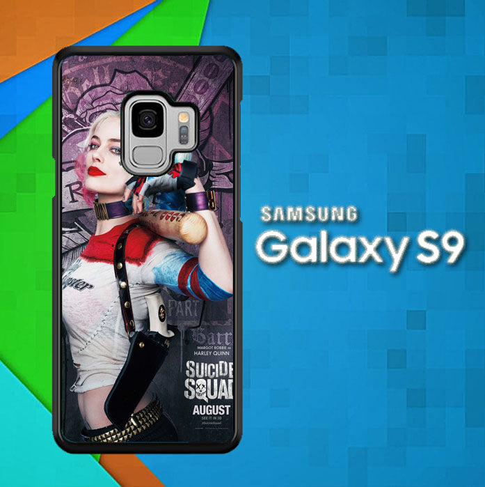Suicide Squad Harleyquinn X4171 Samsung Galaxy S9 Case Christmas Gifts | Xmas Presents and Gift Ideas-Samsung Galaxy S9 Cases-Recovery Case