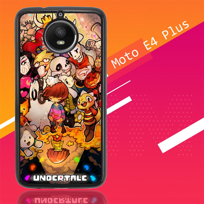Undertale All Character X4165 Motorola Moto E4 Plus Case Christmas Gifts | Xmas Presents and Gift Ideas-Motorola Moto E4 Plus-Recovery Case
