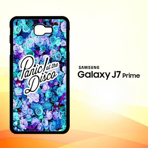 Panic At The Disco Flower X4351 Samsung Galaxy J7 V , J7 Sky Pro, J7 Prime, J7 Perx 2017 SM J727 Case Cover Cases