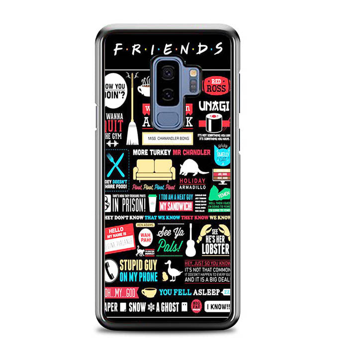 Friends TV Show F0791 Samsung Galaxy S9 Plus Case