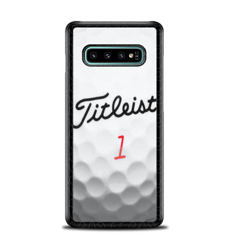 Titleist Golf Ball X4368 Samsung Galaxy S10 Plus Cover Cases