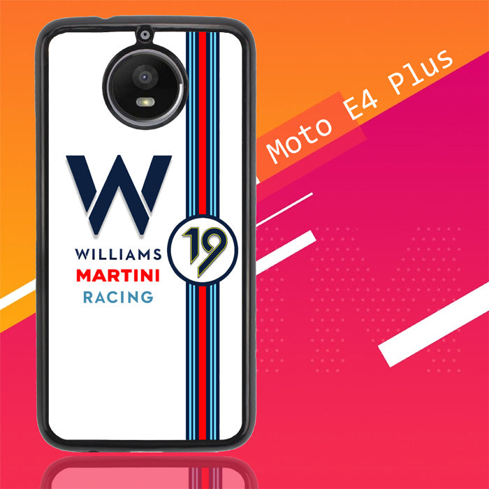 Williams Martini Racing X4412 Motorola Moto E4 Plus Case Christmas Gifts | Xmas Presents and Gift Ideas-Motorola Moto E4 Plus-Recovery Case
