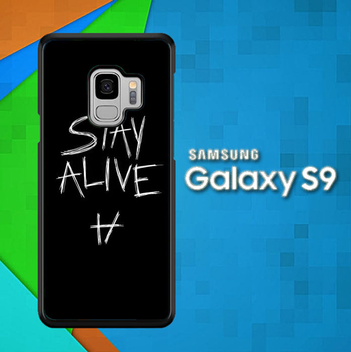 Twenty One Pilots Stay Alive X4419 Samsung Galaxy S9 Case Christmas Gifts | Xmas Presents and Gift Ideas-Samsung Galaxy S9 Cases-Recovery Case