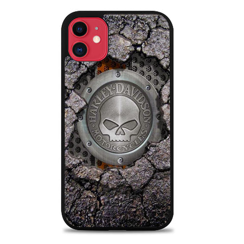 Harley Davidson Skull X4487 iPhone 11 Case