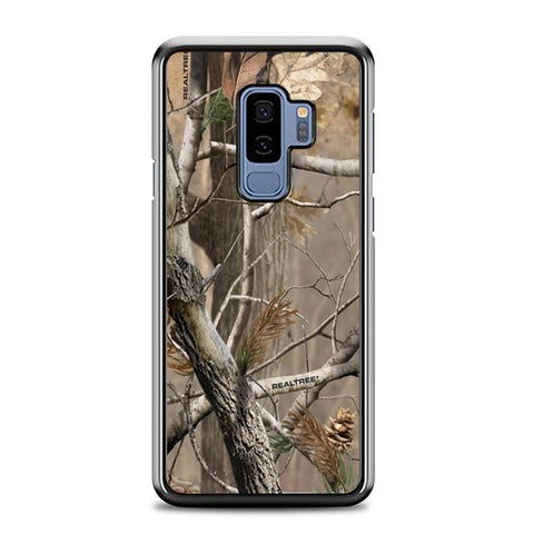 Camouflage Camo Realtree X4517 Samsung Galaxy S9 Plus Case