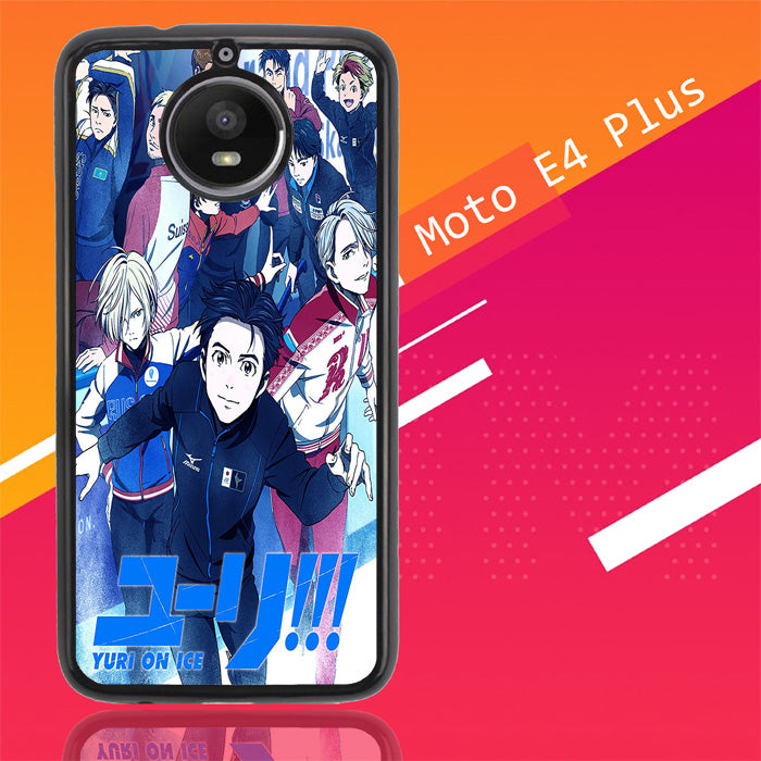 Yuri On Ice X4747 Motorola Moto E4 Plus Case Christmas Gifts | Xmas Presents and Gift Ideas-Motorola Moto E4 Plus-Recovery Case