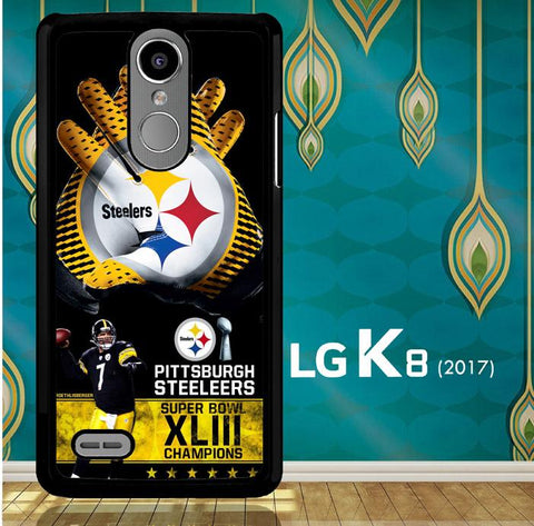 Pittsburgh Steelers Nfl X4840 LG K8 2017 / LG Aristo / LG Risio 2 / LG Fortune / LG Phoenix 3  Cover Cases