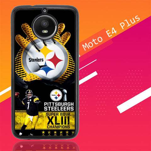 Pittsburgh Steelers Nfl X4840 Motorola Moto E4 Plus  Cover Cases
