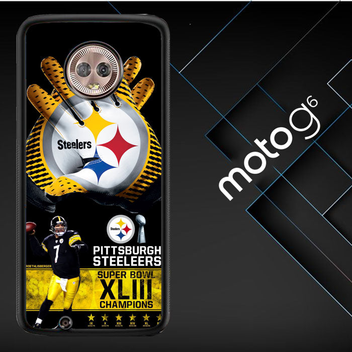 Pittsburgh Steelers Nfl X4840 Motorola Moto G6 ( Moto G 6th Generation ) Case New Year Gifts 2020-Moto G6 ( Moto G 6th Generation )-Recovery Case