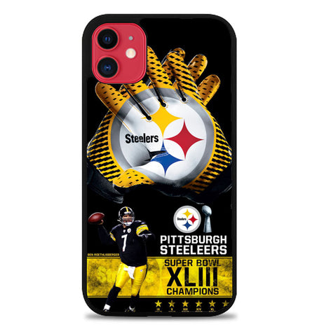 Pittsburgh Steelers NFL X4840 iPhone 11 Case