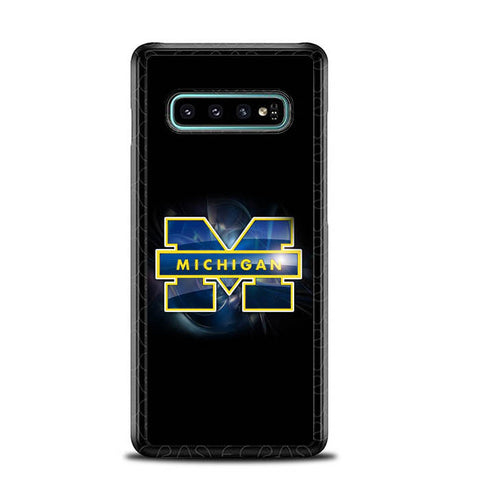 Michigan Wolverines X4941 Samsung Galaxy S10 Plus Cover Cases