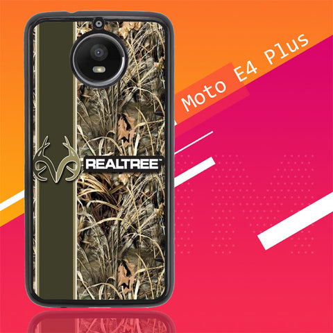 Realtree Camo X4909 Motorola Moto E4 Plus  Cover Cases