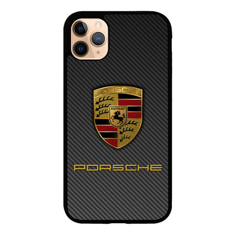 Porsche Logo Carbon X5017 iPhone 11 Pro Max Case