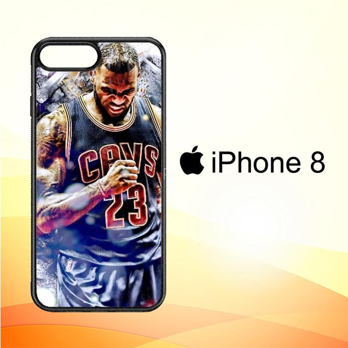 Lebron James Widescreen X5047 iPhone 8 Case New Year Gifts 2020-iPhone 8 Cases-Recovery Case