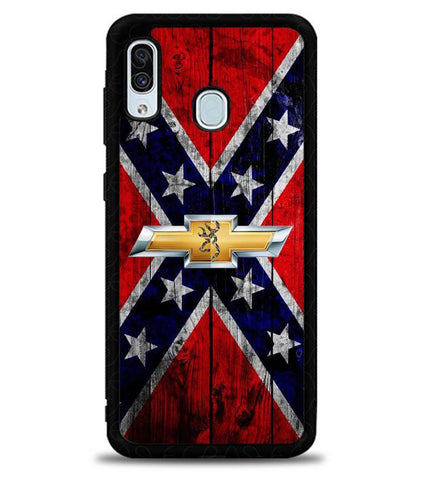 Chevy Deer Camo X5634 Samsung Galaxy A20 Case
