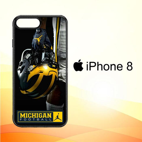michigan wolverines X6215 iPhone 8 Cover Cases