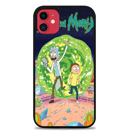 Rick and Morty Poster X6227 iPhone 11 Case