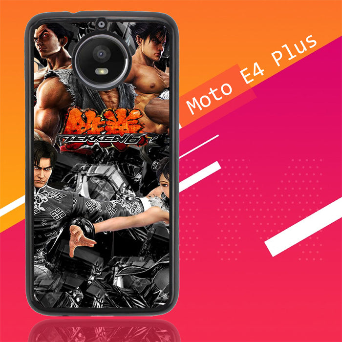 Tekken 6 Characters 3D X0166 Motorola Moto E4 Plus Case Christmas Gifts | Xmas Presents and Gift Ideas-Motorola Moto E4 Plus-Recovery Case