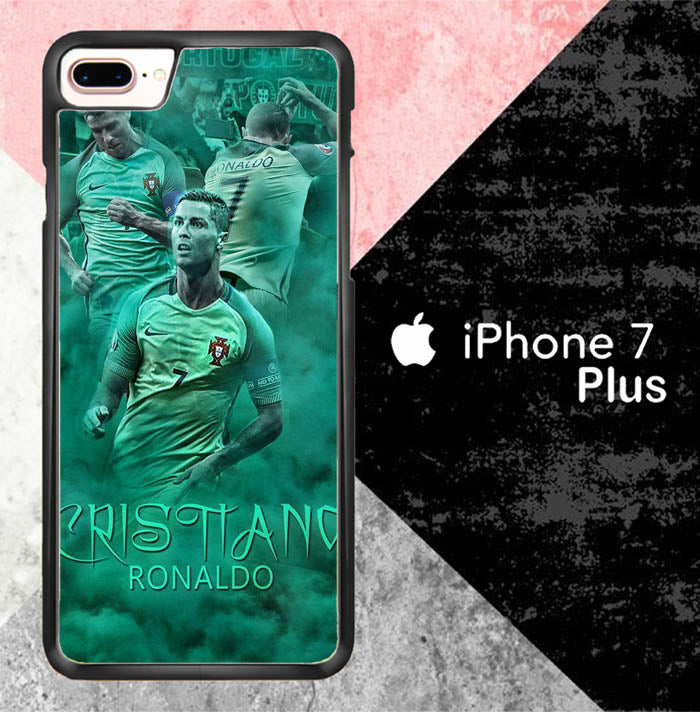 Cristiano Ronaldo 2017 X7039 iPhone 7 Plus Case New Year Gifts 2020-iPhone 7 Plus Cases-Recovery Case