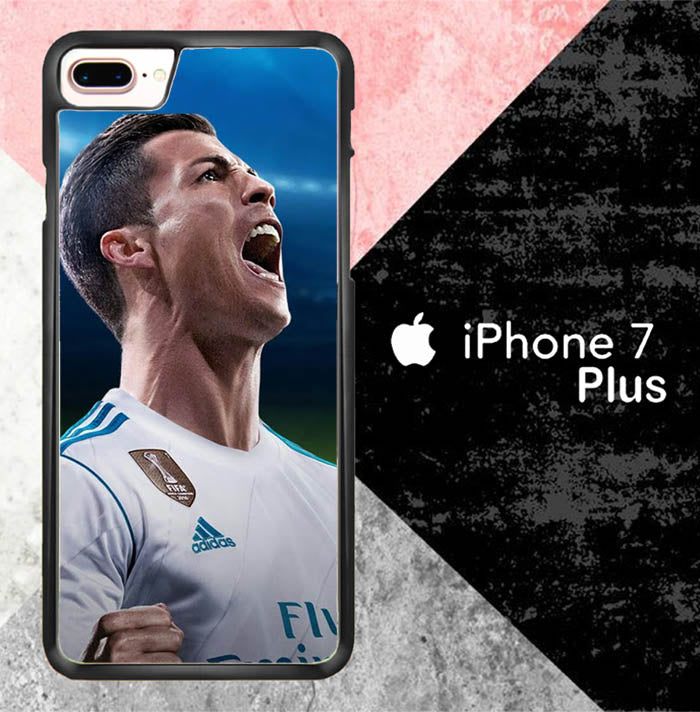 Cristiano Ronaldo 2018 X7013 iPhone 7 Plus Case New Year Gifts 2020-iPhone 7 Plus Cases-Recovery Case
