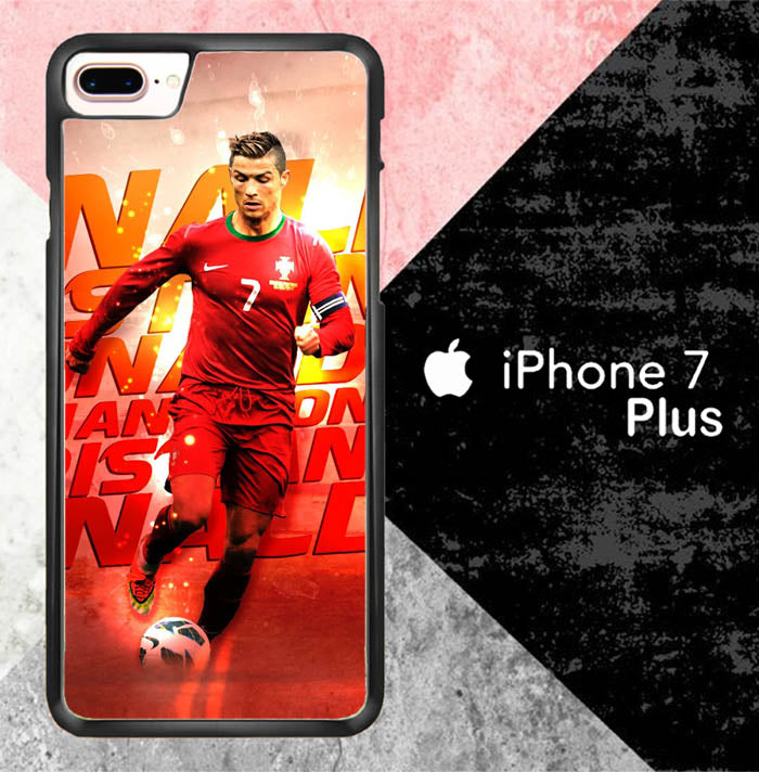 Cristiano Ronaldo New X7037 iPhone 7 Plus Case New Year Gifts 2020-iPhone 7 Plus Cases-Recovery Case