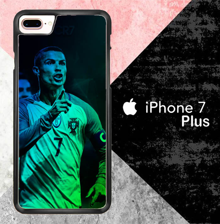 Cristiano Ronaldo Portugal X7032 iPhone 7 Plus Case New Year Gifts 2020-iPhone 7 Plus Cases-Recovery Case