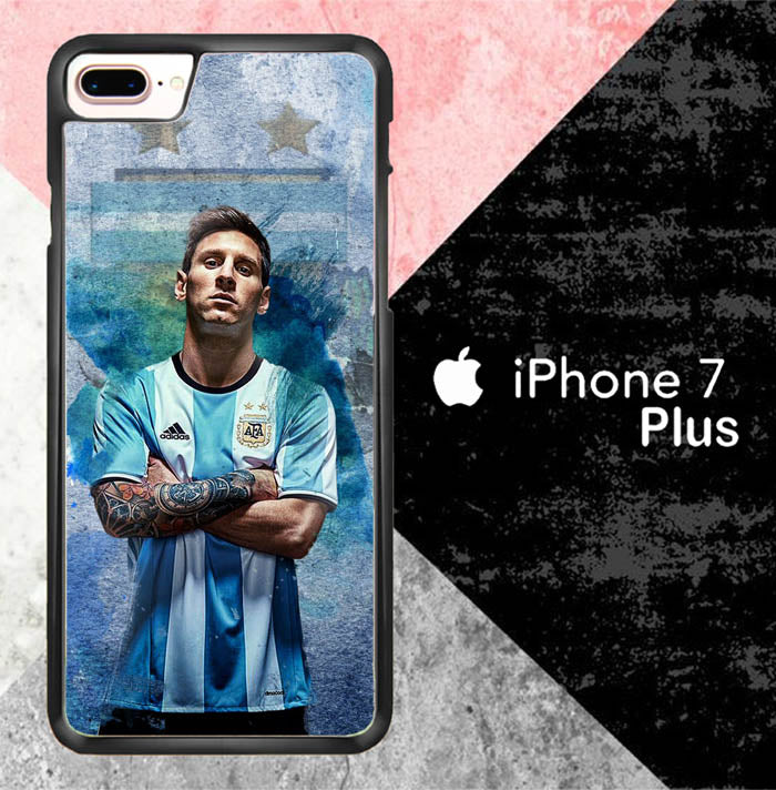 Lionel Messi X7014 iPhone 7 Plus Case New Year Gifts 2020-iPhone 7 Plus Cases-Recovery Case
