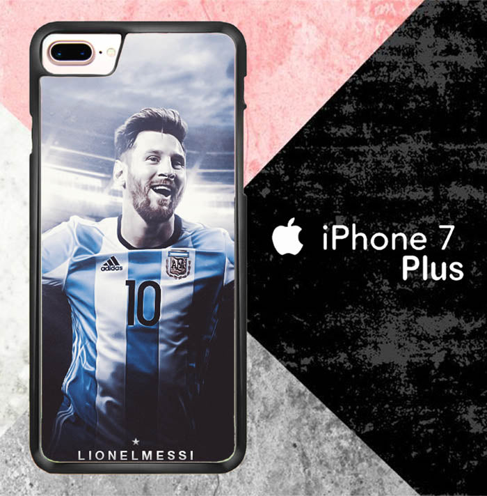 Lionel Messi X7015 iPhone 7 Plus Case New Year Gifts 2020-iPhone 7 Plus Cases-Recovery Case