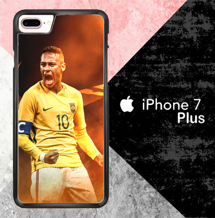 Neymar Jr Brasil X7028 iPhone 7 Plus Case New Year Gifts 2020-iPhone 7 Plus Cases-Recovery Case