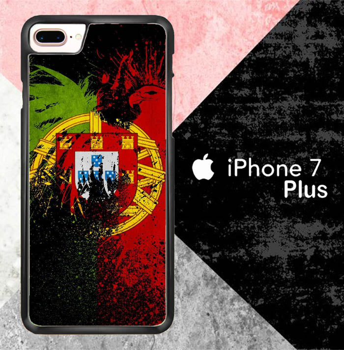 Portugal flag X7050 iPhone 7 Plus Case New Year Gifts 2020-iPhone 7 Plus Cases-Recovery Case