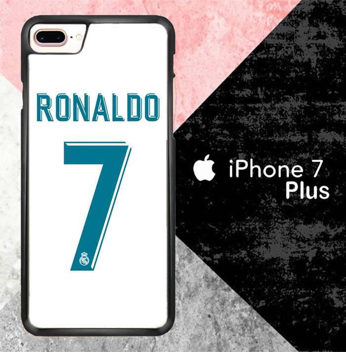 Ronaldo 2018 X7034 iPhone 7 Plus Case New Year Gifts 2020-iPhone 7 Plus Cases-Recovery Case