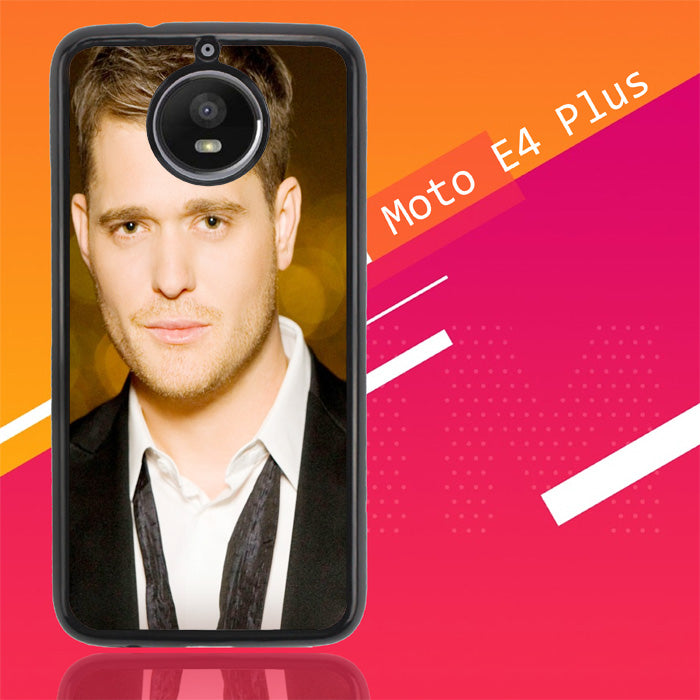 Michael Buble X0287 Motorola Moto E4 Plus Case New Year Gifts 2020-Motorola Moto E4 Plus-Recovery Case