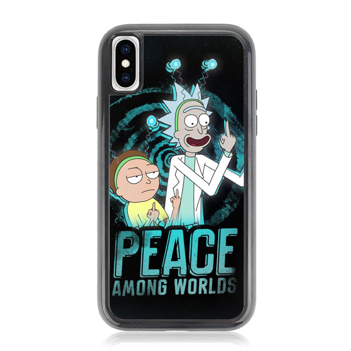 Rick and Morty X8036 iPhone XS Max Case
