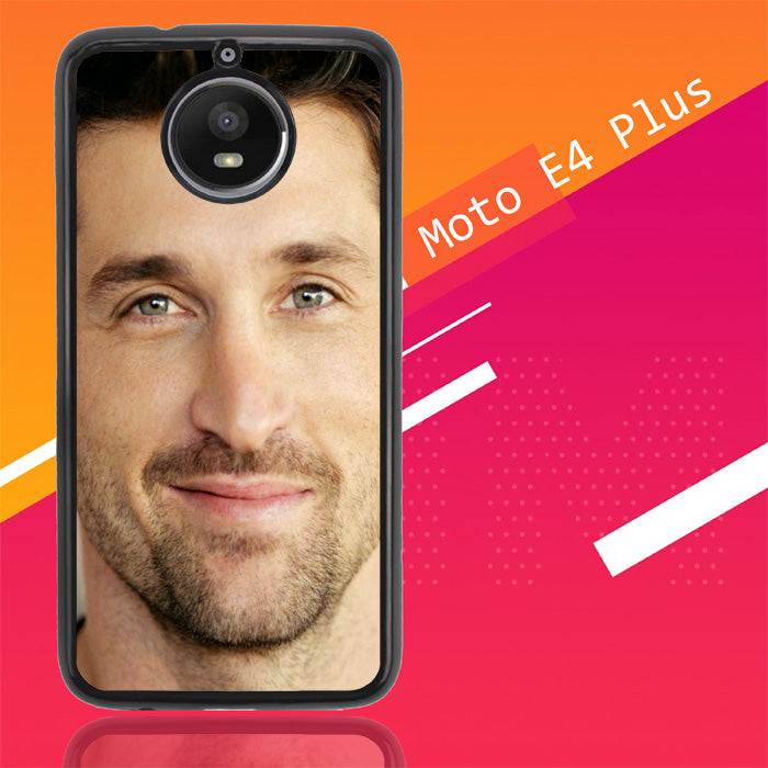 Patrick Dempsey X0355 Motorola Moto E4 Plus Case New Year Gifts 2020-Motorola Moto E4 Plus-Recovery Case