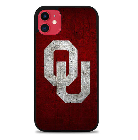 Oklahoma Sooners X8703 iPhone 11 Case