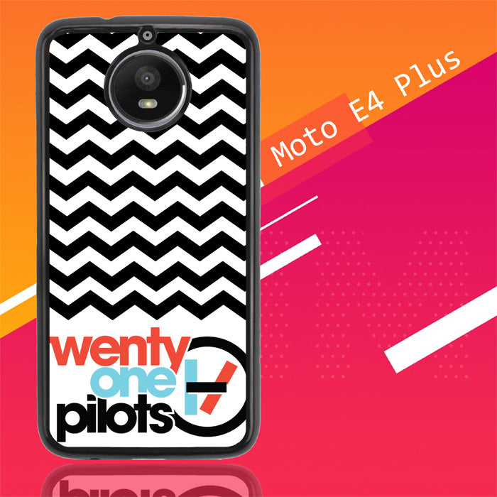 Twenty One Pilots Logo X0393 Motorola Moto E4 Plus Case Christmas Gifts | Xmas Presents and Gift Ideas-Motorola Moto E4 Plus-Recovery Case