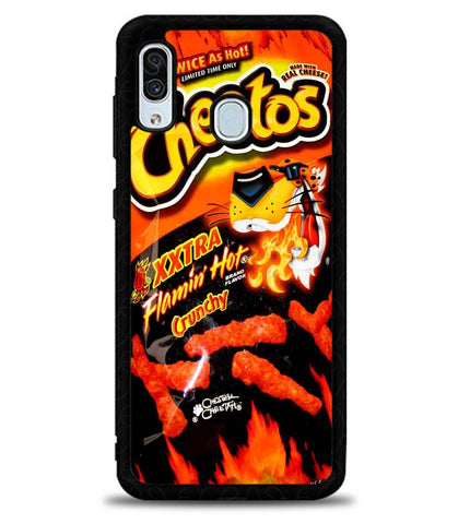 Cheetos Hot Crunchy X8962 Samsung Galaxy A20 Case